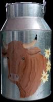 petit pot à lait vache